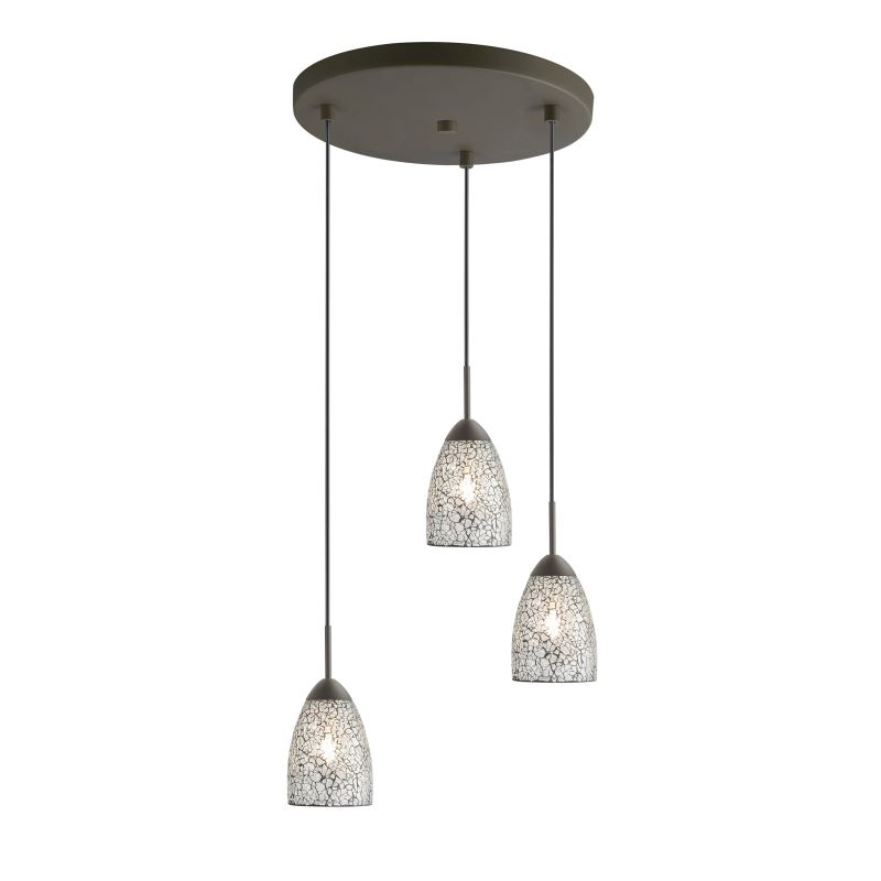 Woodbridge Lighting 13224MEB-M20 3 Light Venezia Metallic Bronze Multi Sale $246.85 ITEM: bci2199810 ID#:13224MEB-M20CLR :