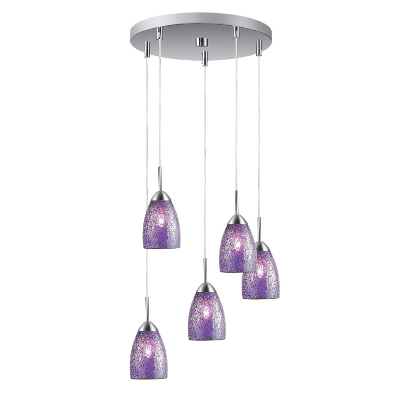 Woodbridge Lighting 13225STN-M20 5 Light Venezia Satin Nickel Multi Sale $411.41 ITEM: bci2199830 ID#:13225STN-M20PUR :