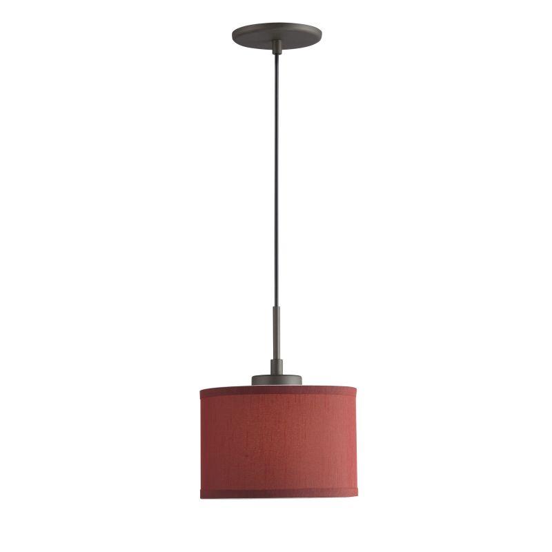 Woodbridge Lighting 13323MEB-S108 1 Light Metallic Bronze Mini Pendant