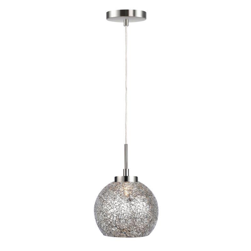 Woodbridge Lighting 13323STN-M00 1 Light Satin Nickel Mini Pendant
