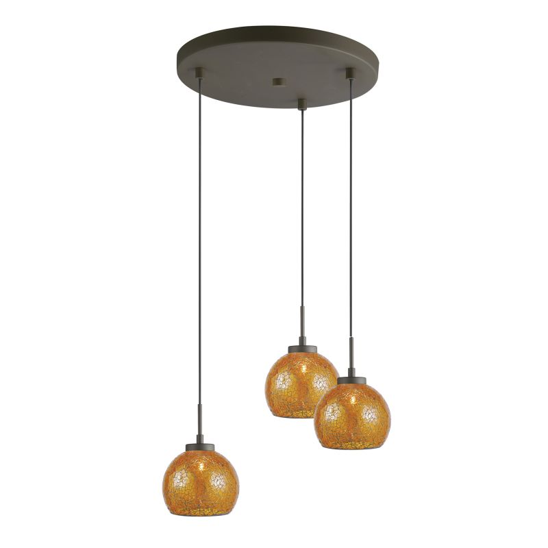 Woodbridge Lighting 13324MEB-M00 3 Light Metallic Bronze Multi Light Sale $361.15 ITEM: bci2199742 ID#:13324MEB-M00AMB :