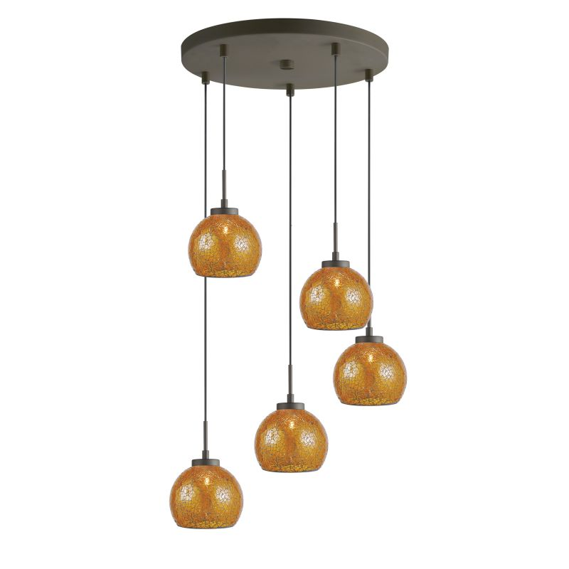 Woodbridge Lighting 13325MEB-M00 5 Light Metallic Bronze Multi Light Sale $585.17 ITEM: bci2199754 ID#:13325MEB-M00AMB :