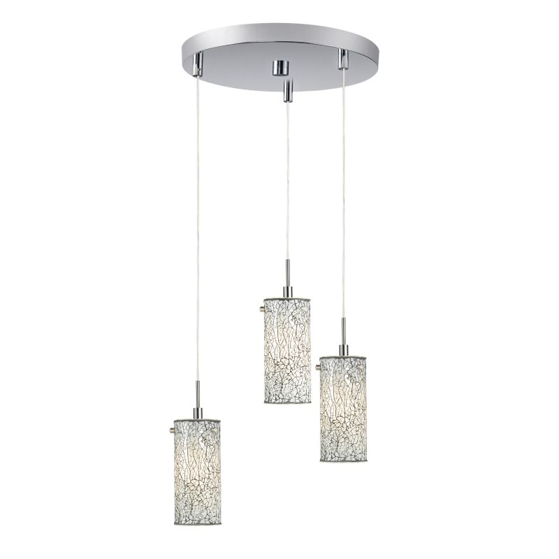 Woodbridge Lighting 13424STN-M10 3 Light Satin Nickel Multi Light Sale $315.41 ITEM: bci2199780 ID#:13424STN-M10WHT :
