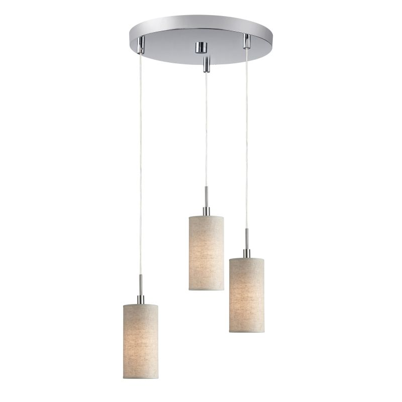 Woodbridge Lighting 13424STN-S104 3 Light Satin Nickel Multi Light Sale $246.85 ITEM: bci2199781 ID#:13424STN-S10401 :