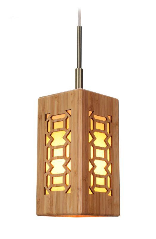 Woodbridge Lighting 14023CBRWL-W3A1BB Light House 1 Light Mini Pendant