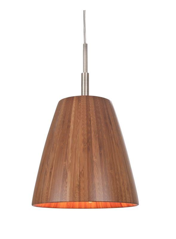 Woodbridge Lighting 14023STNWL-W2A1BB Sorg 1 Light Mini Pendant with