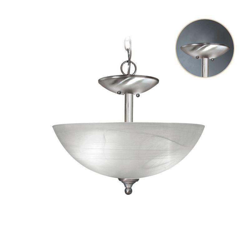 Woodbridge Lighting 21016 Kenshaw 3 Light Satin Nickel Pendant Satin