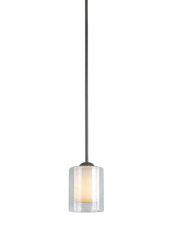 Woodbridge Lighting 28048 Cosmo 1 Light Pendant Bronze Indoor Lighting