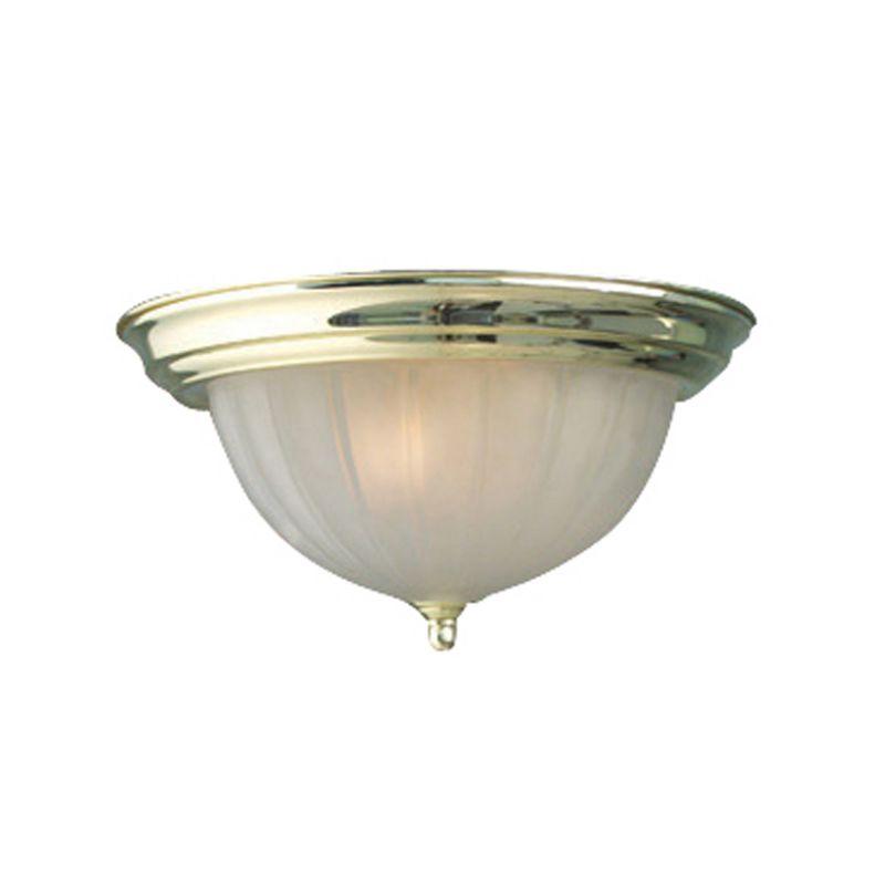 Woodbridge Lighting 31007 Basic 2 Light Flush Mount Ceiling Fixture
