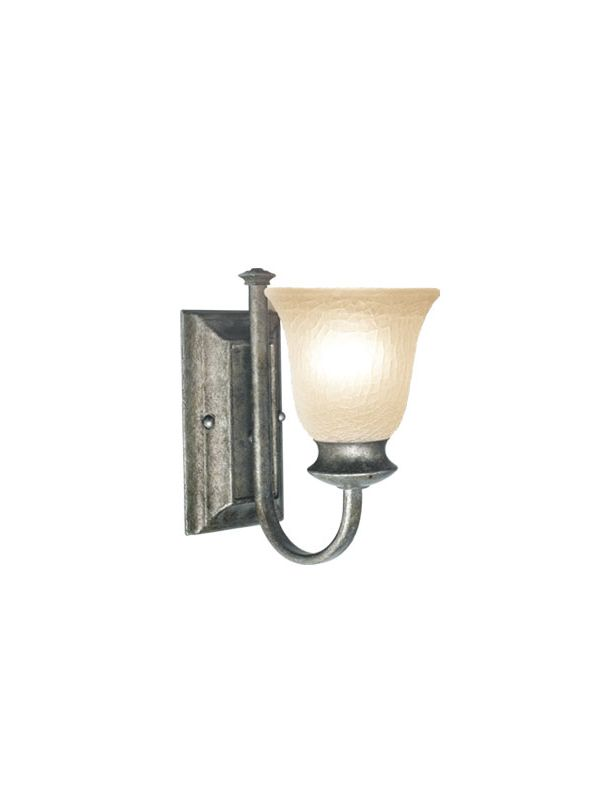 Woodbridge Lighting 42016 Dresden 1 Light Wall Sconces Greystone