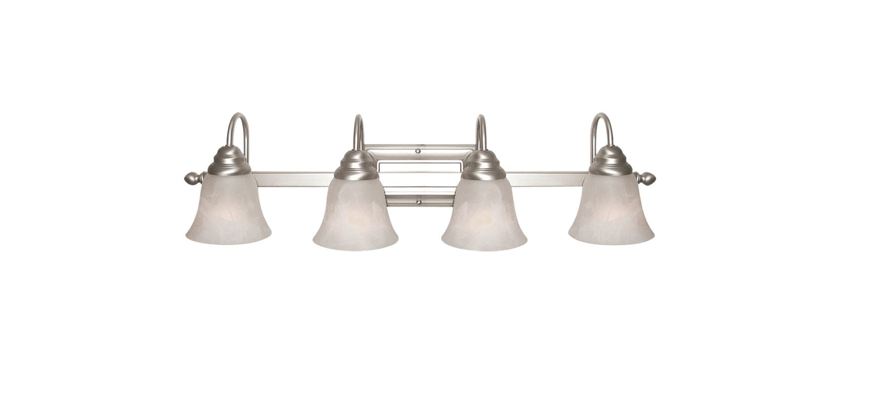 Woodbridge Lighting 50021 Basic 4 Light Satin Nickel Vanity Light Sale $123.52 ITEM: bci2195856 ID#:50021-STN :