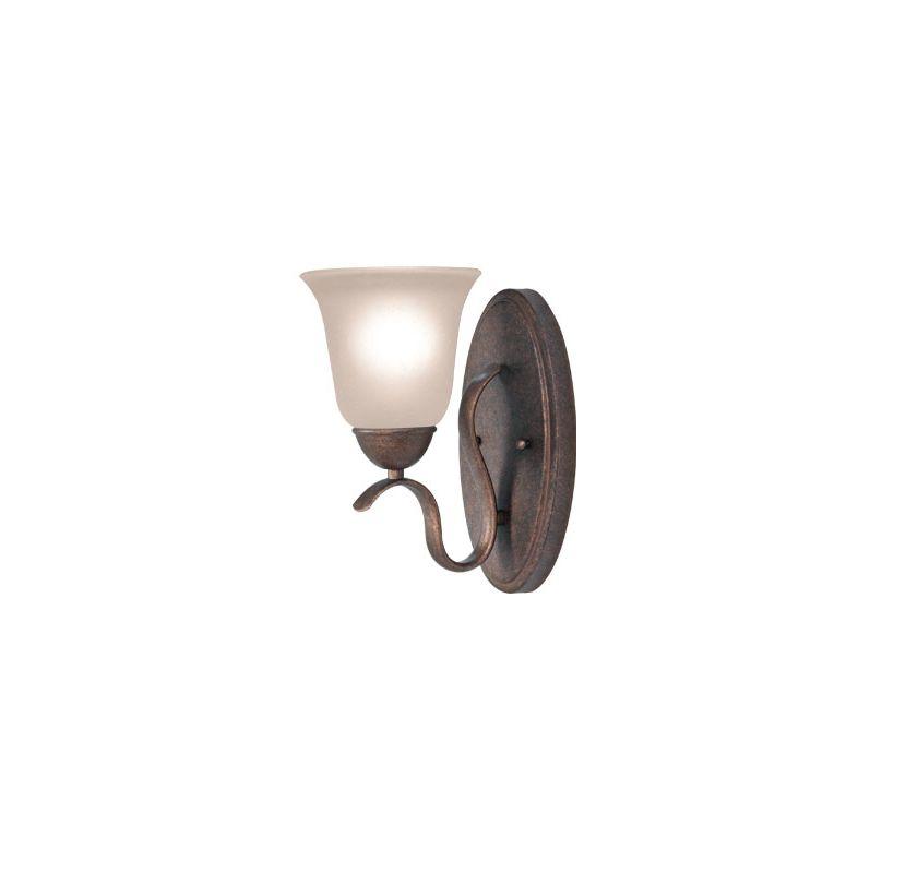 Woodbridge Lighting 50050 Beaconsfield 1 Light Bathroom Sconce Marbled