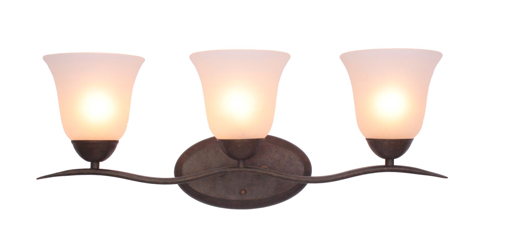 Woodbridge Lighting 50052 Beaconsfield 3 Light Vanity Light Marbled