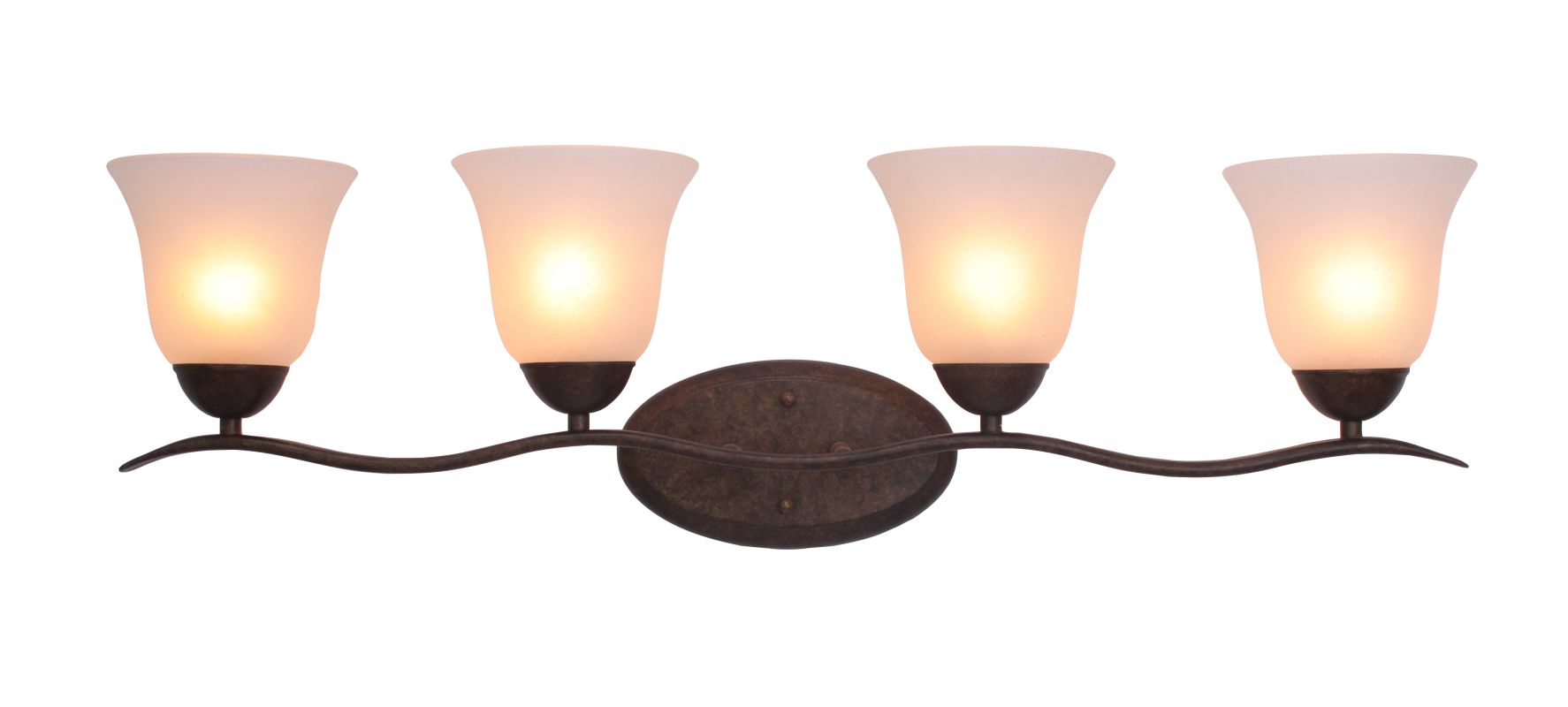 Woodbridge Lighting 50053 Beaconsfield 4 Light Vanity Light Marbled Sale $127.09 ITEM: bci2195877 ID#:50053-MBZ :