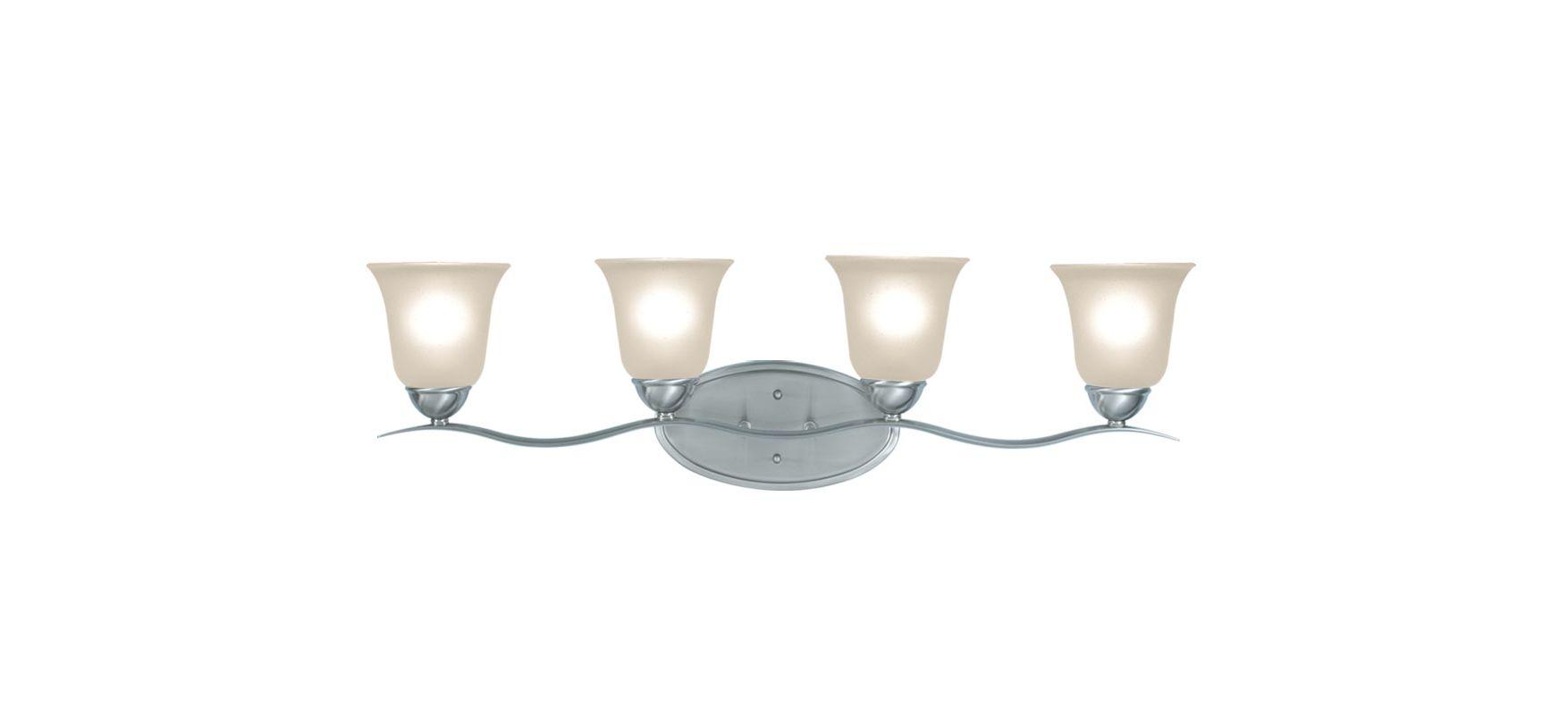 Woodbridge Lighting 50053 Beaconsfield 4 Light Vanity Light Satin