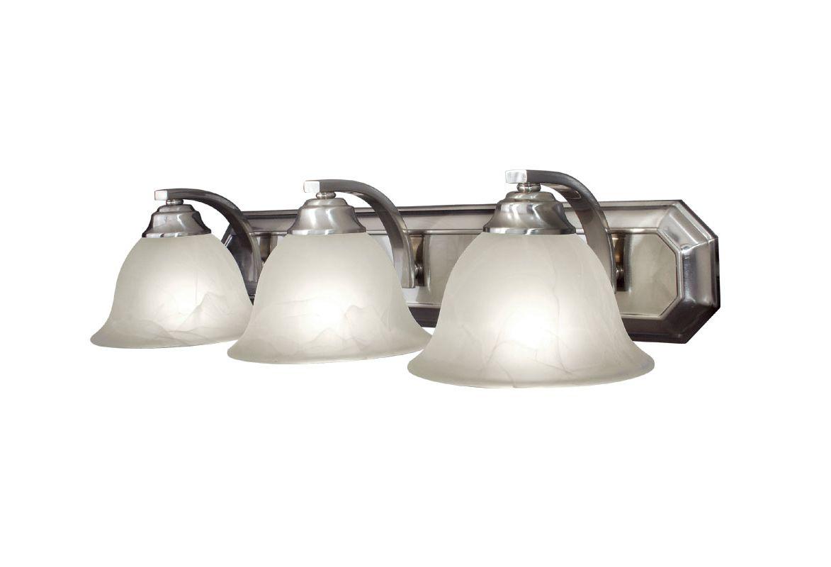 Woodbridge Lighting 50062 Marissa 3 Light Vanity Light Satin Nickel