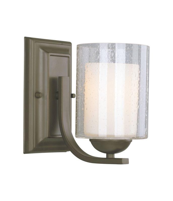 Woodbridge Lighting 53111 Cosmo 1 Light Bathroom Sconce Bronze Indoor