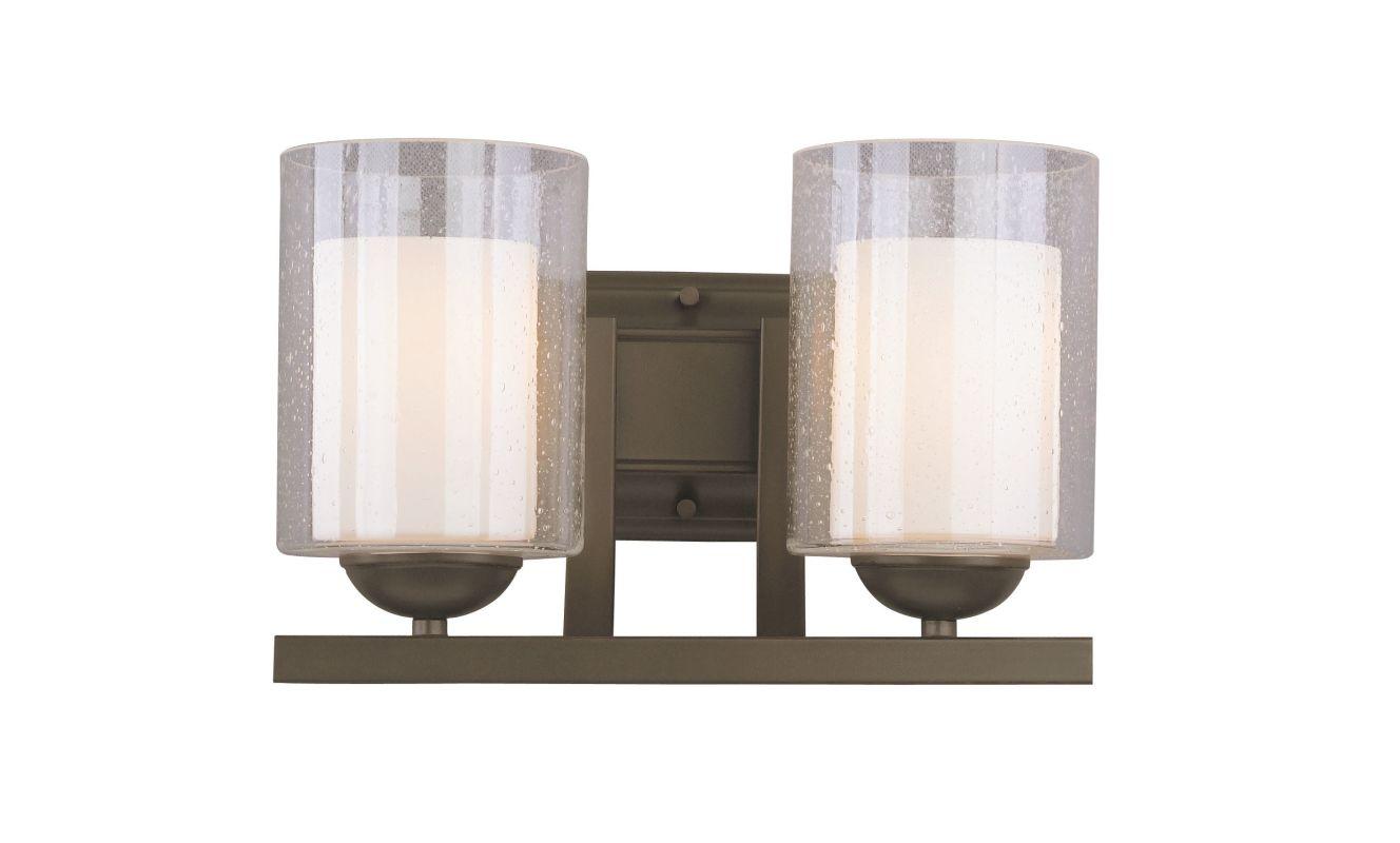 Woodbridge Lighting 53112 Cosmo 2 Light Vanity Light Bronze Indoor