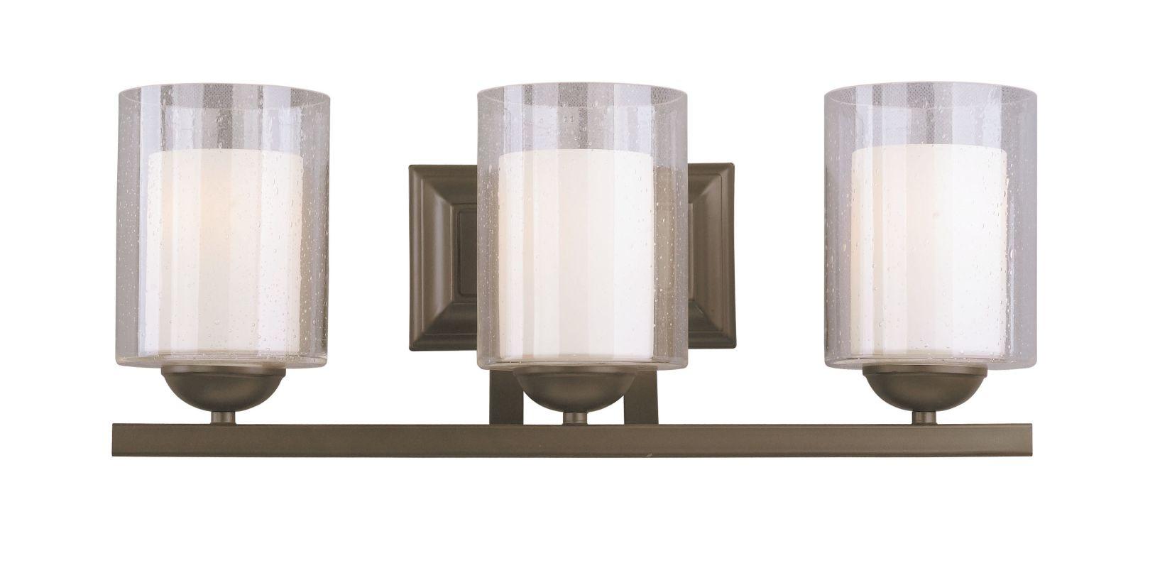 Woodbridge Lighting 53113 Cosmo 3 Light Vanity Light Bronze Indoor