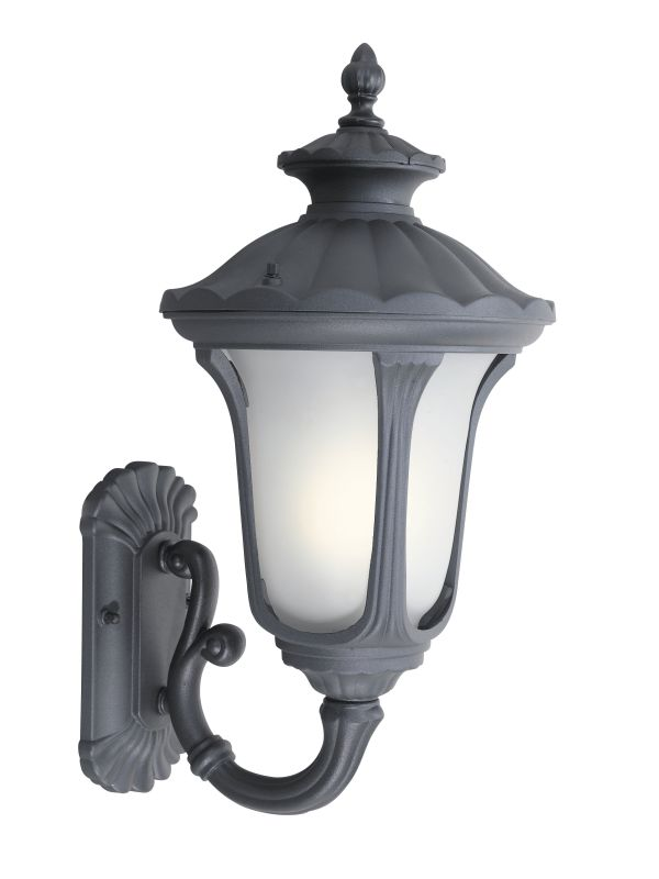 Woodbridge Lighting 61022WL Westbrook 1 Light Black Medium Outdoor