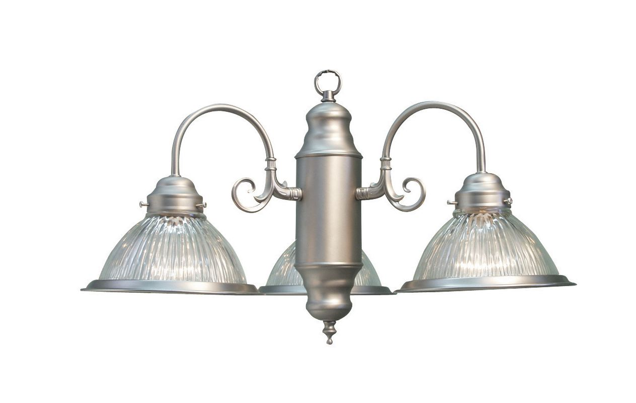 Woodbridge Lighting 10000-STN 3 Light Down Light Single Tier