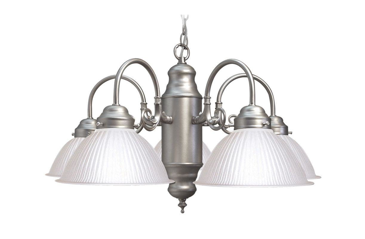 Woodbridge Lighting 10001-STN 5 Light Down Light Single Tier Sale $82.29 ITEM: bci1860192 ID#:10001-STN UPC: 816374011562 :