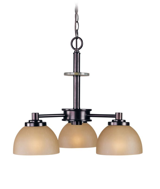 Woodbridge Lighting 10065-CDV 3 Light Down Light Single Tier
