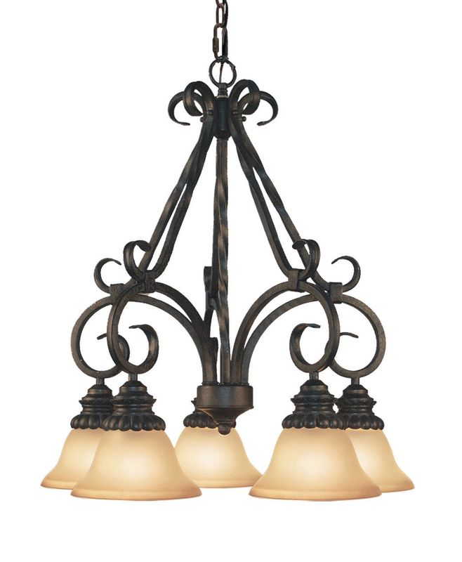 Woodbridge Lighting 12052-TOR 5 Light Down Light Single Tier Sale $320.06 ITEM: bci1860207 ID#:12052-TOR :