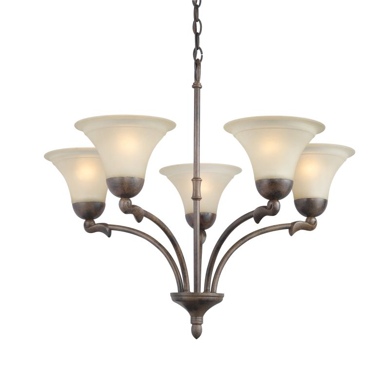 Woodbridge Lighting 12126-RBZ 5 Light Up Light Single Tier Chandelier Sale $218.53 ITEM: bci1860226 ID#:12126-RBZ :