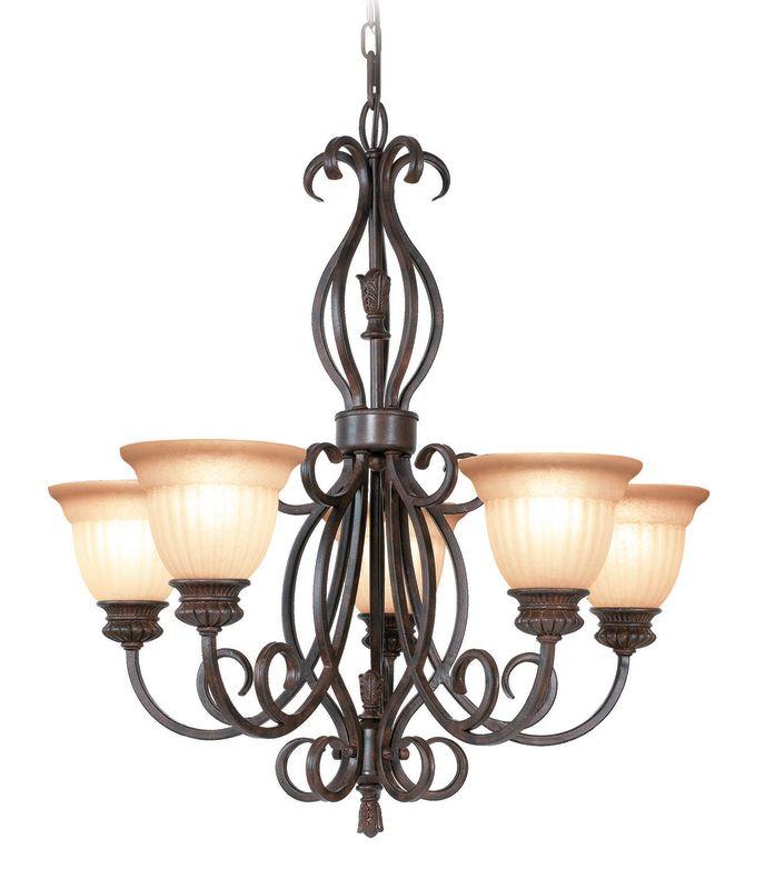 Woodbridge Lighting 12141-RBZ 5 Light Up Light Single Tier Chandelier Sale $329.18 ITEM: bci1860230 ID#:12141-RBZ :