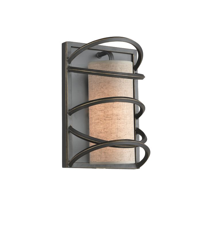 Woodbridge Lighting 12541BLK-S10401 1 Light Wall Sconce from the Loop Sale $155.42 ITEM: bci1860272 ID#:12541BLK-S10401 :