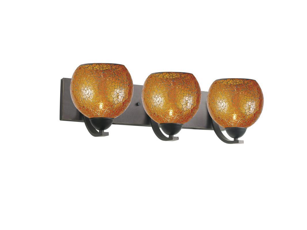 Woodbridge Lighting 13053MEB-M00AMB 3 Light Up Light Bathroom Fixture Sale $288.02 ITEM: bci1860328 ID#:13053MEB-M00AMB :