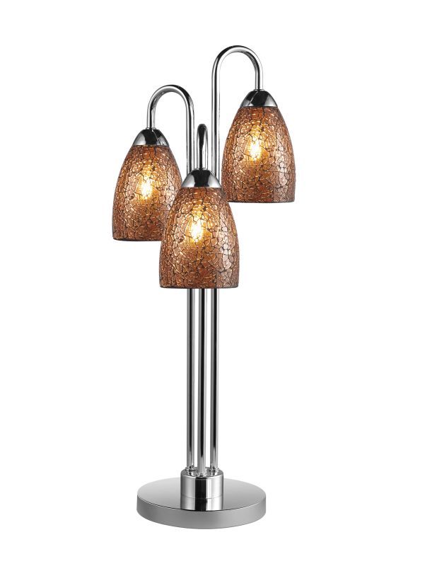 Woodbridge Lighting 13283CHR-M20AMB 3 Light Table Lamp from the Sale $191.98 ITEM: bci1860346 ID#:13283CHR-M20AMB :