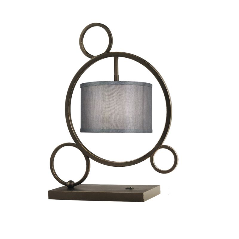 Woodbridge Lighting 13381MEB-S10802 Single Light Specialty Table Lamp