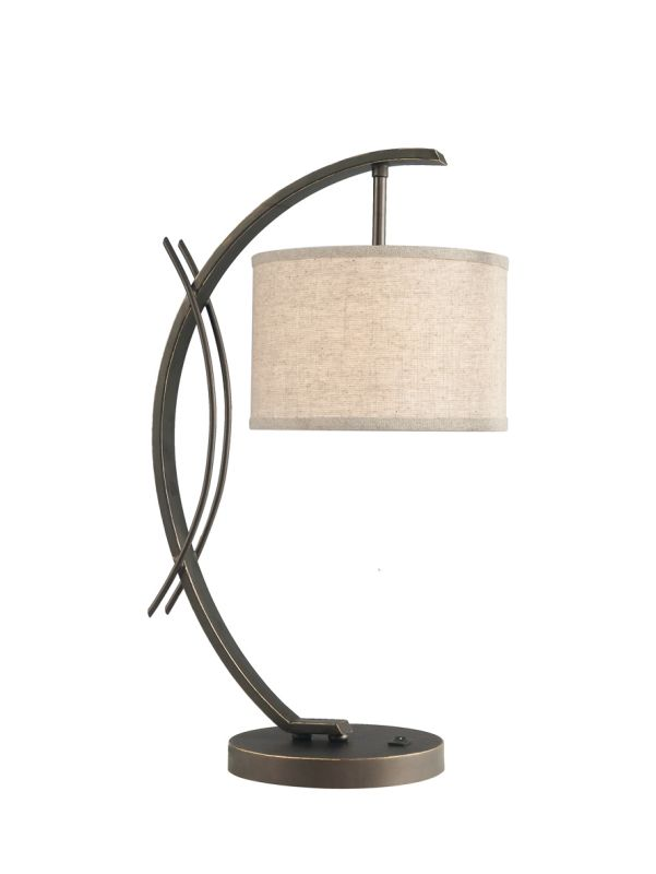 Woodbridge Lighting 13481MEB-S10801 1 Light Table Lamp from the