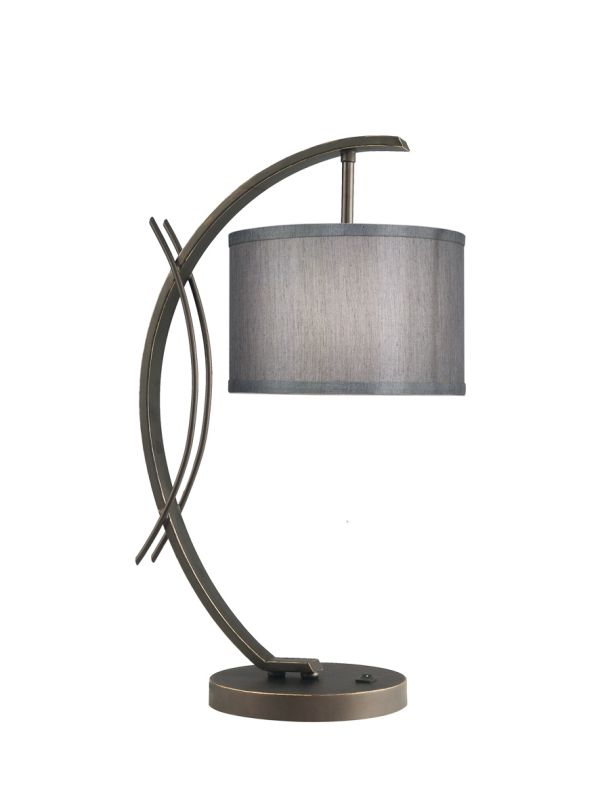 Woodbridge Lighting 13481MEB-S10802 1 Light Table Lamp from the