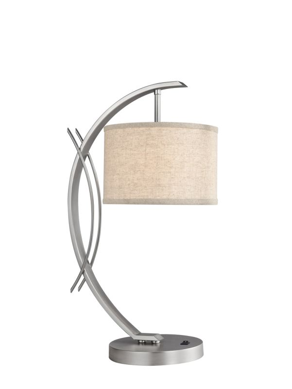 Woodbridge Lighting 13481STN-S10801 1 Light Table Lamp from the