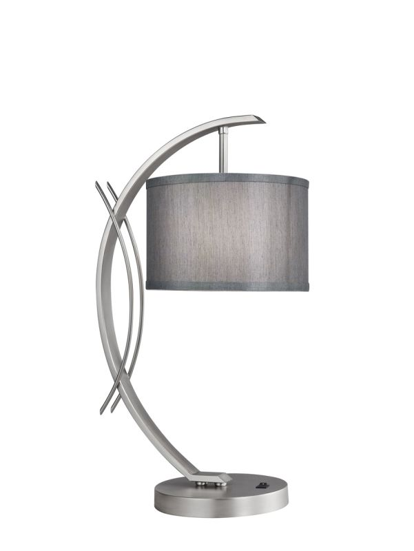 Woodbridge Lighting 13481STN-S10802 1 Light Table Lamp from the