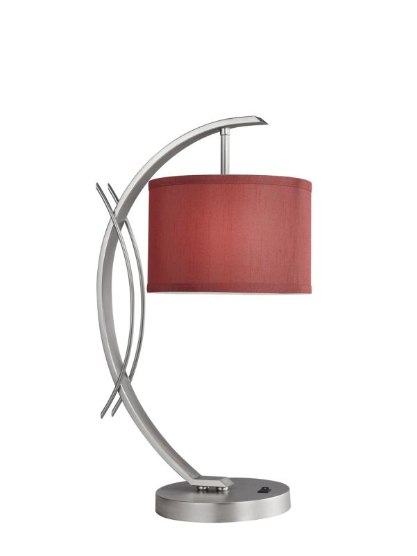 Woodbridge Lighting 13481STN-S10803 1 Light Table Lamp from the