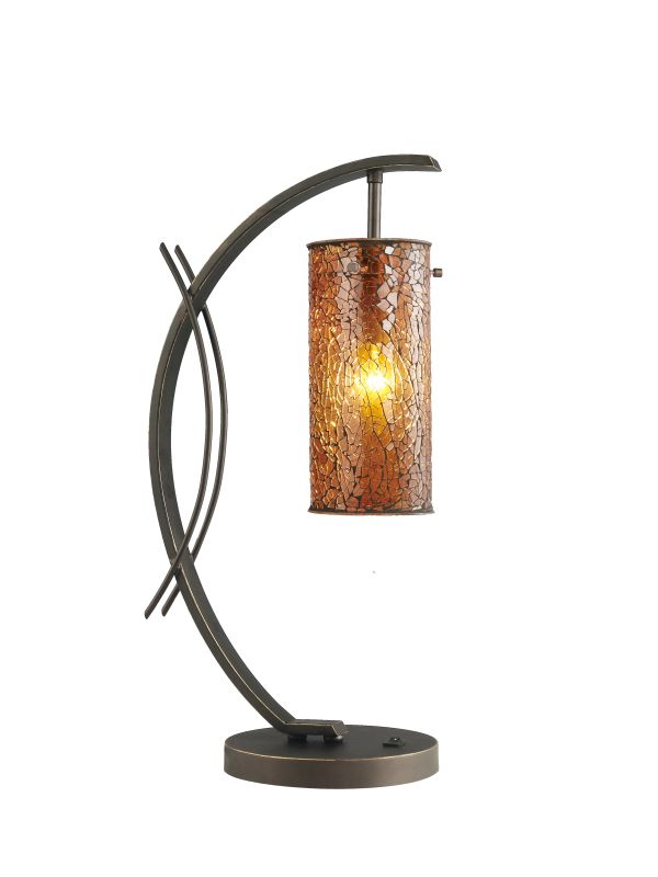 Woodbridge Lighting 13482MEB-M10AMB 1 Light Table Lamp from the