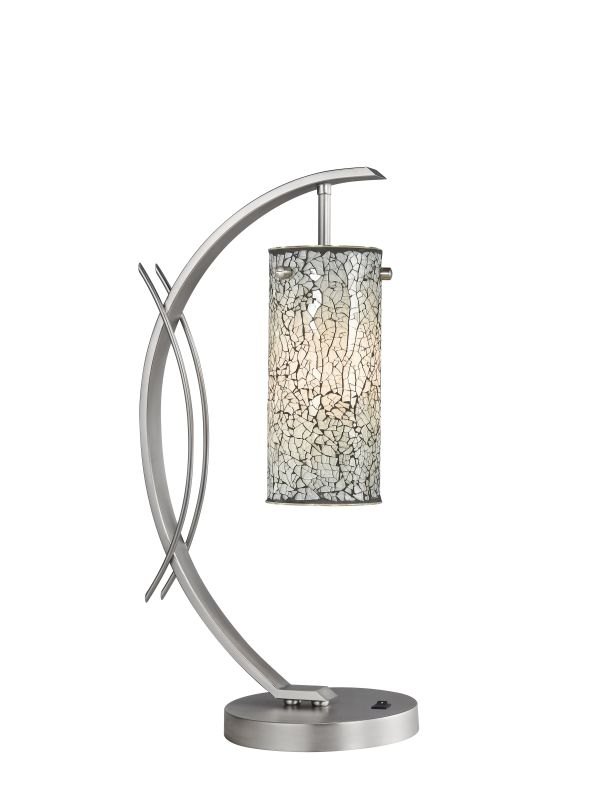 Woodbridge Lighting 13482STN-M10WHT 1 Light Table Lamp from the Sale $164.56 ITEM: bci1860373 ID#:13482STN-M10WHT :