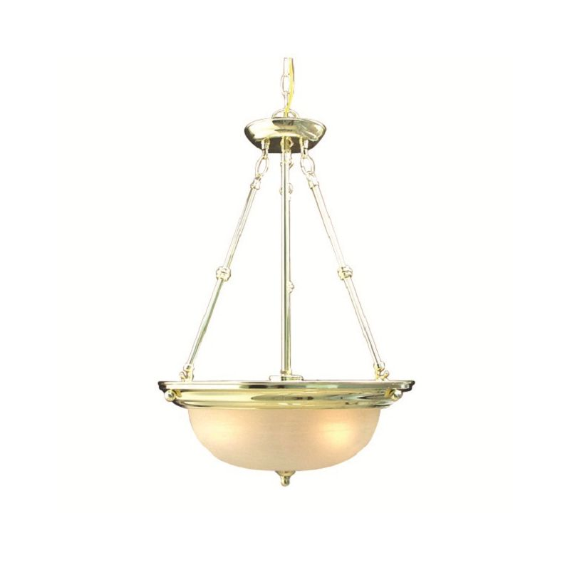 Woodbridge Lighting 20001-PBR 3 Light Down Light Foyer Pendant from Sale $90.59 ITEM: bci1860402 ID#:20001-PBR :