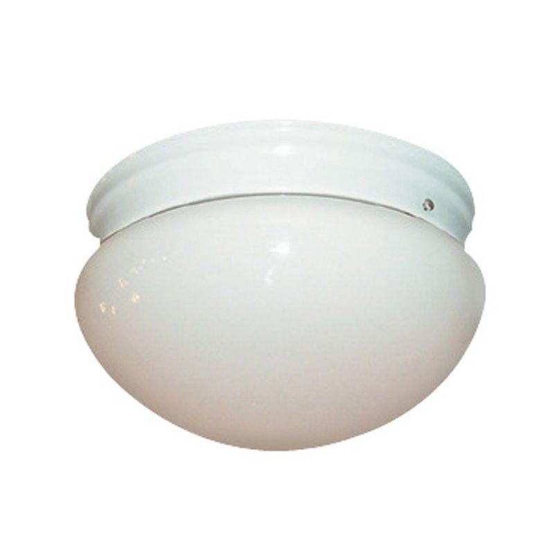 Woodbridge Lighting 30000-WHT 1 Light Down Light Flushmount Ceiling