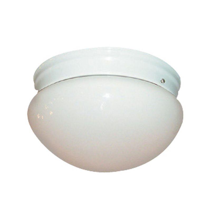 Woodbridge Lighting 30001-WHT 2 Light Down Light Flushmount Ceiling