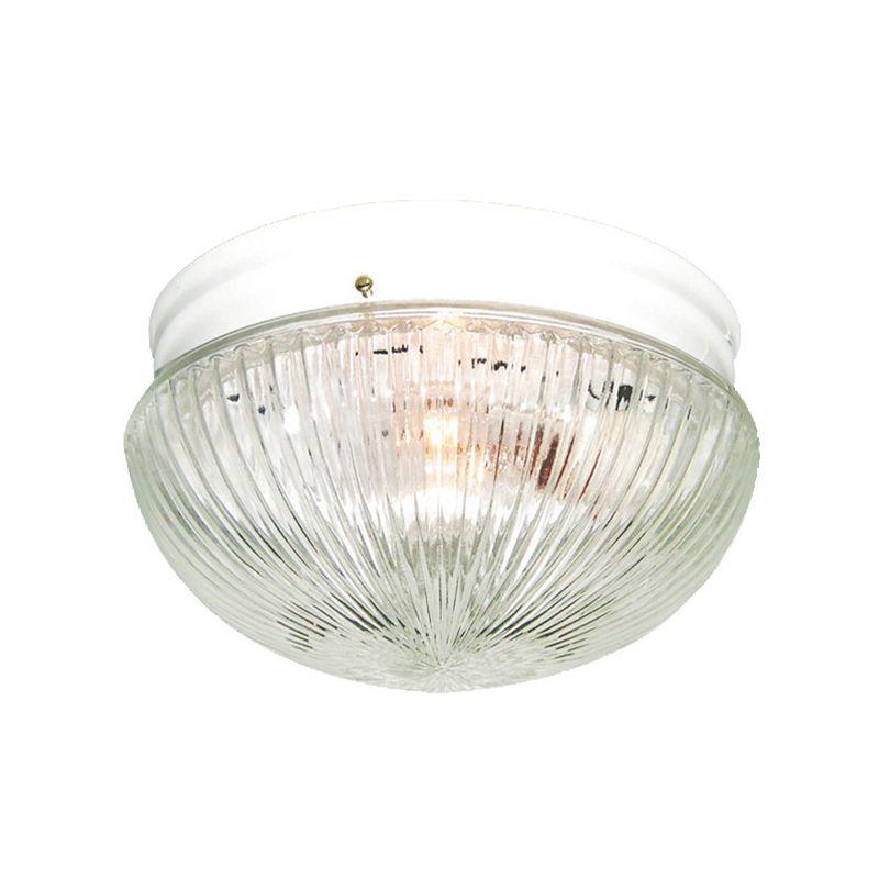 Woodbridge Lighting 30002-WHT 1 Light Down Light Flushmount Ceiling