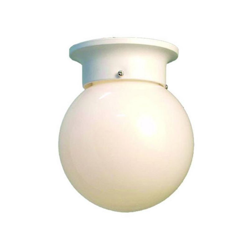Woodbridge Lighting 30006-WHT 1 Light Down Light Flushmount Ceiling