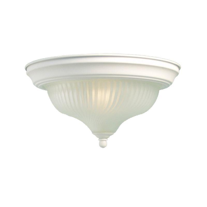 Woodbridge Lighting 31003-WHT 1 Light Down Light Flushmount Ceiling