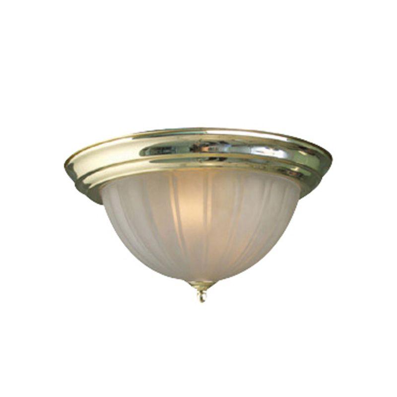 Woodbridge Lighting 31006-PBR 1 Light Down Light Flushmount Ceiling