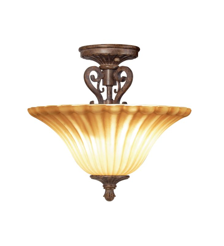 Woodbridge Lighting 38409-RSI 2 Light Down Light Semi-Flush Ceiling Sale $128.08 ITEM: bci1860490 ID#:38409-RSI :