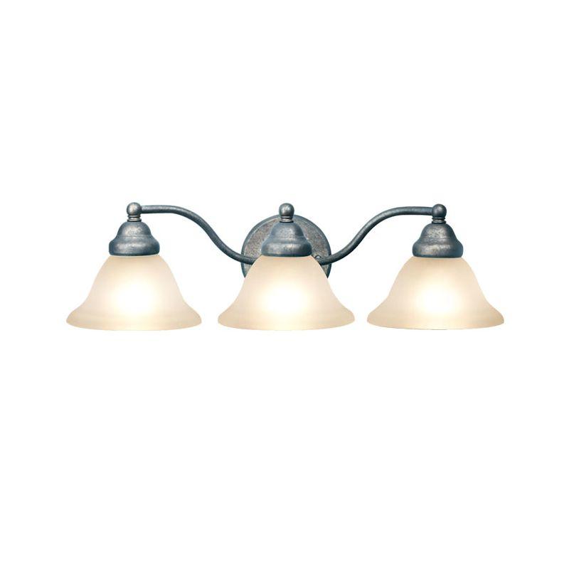 Woodbridge Lighting 50027-GST 3 Light Down Light Bathroom Fixture from